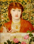 Dante Gabriel Rossetti (1828-1882)  Regina Cordium  Oil on canvas, 1866  49.5 x 59.7 cm (19.49